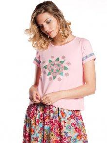 Rosalita McGee Dámské tričko CHILEAN_T-SHIRT_ONE COLOR\n\n