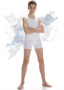 Chlapecká souprava Cornette 867/01 134/140 Bílá