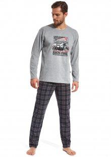Pánské pyžamo Cornette 124/89 L Sv. šedá