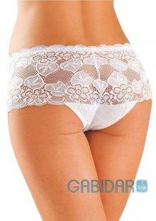 Dámské kalhotky šortky Gabidar 099 S Bílá