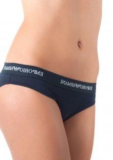 Kalhotky brazilky Emporio Armani 163337 CC317 modrá XL Tm. modrá