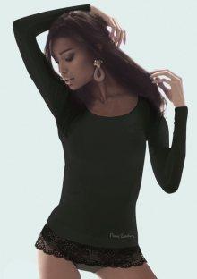 Dámské tričko s dlouhým rukávem Pierre Cardin Alyssa S Černá