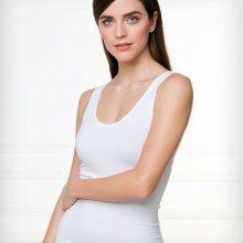 Bezešvá košilka Bellissima 053 S/M Bílá