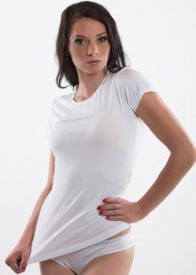 Dámské tričko Emporio Armani 163320 CC317 bílá XS Bílá