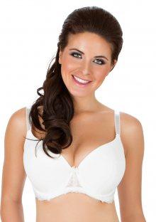 Dámská podprsenka Parfait 7416 Sophia bílá perla 30 E Bílá perla