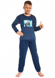 Chlapecké pyžamo Cornette 966/67 134/140 Blu