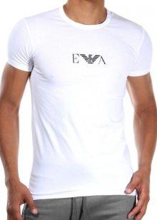 Pánské tričko Emporio Armani 111267 CC715 bílá XL Bílá