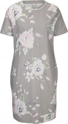 heine Šaty mix barev / šedá / bílá / pastelově růžová