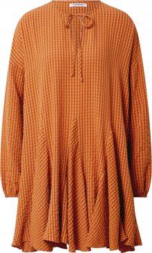 GLAMOROUS Šaty oranžová