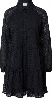 VILA Košilové šaty \'PARTISAN\' černá
