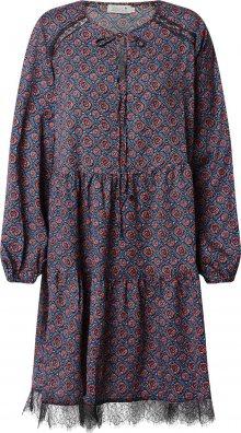 Molly BRACKEN Šaty modrá / černá / červená