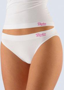 Bambusové kalhotky Gina 00029 S/M Bílá