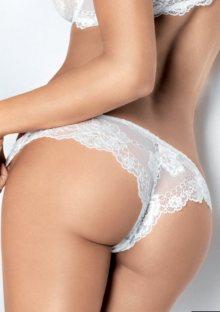 Dámské kalhotky brazilky Lormar Prestige S Myclass-bílá
