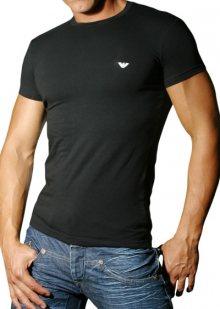 Pánské tričko Emporio Armani 111035 CC729 černá S Černá
