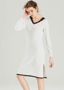 Dámská noční košile Noidinotte LA1677 L Bílá