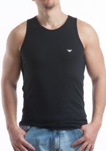 Pánský nátělník Emporio Armani 110828 CC729 černá XL Černá