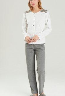 Dámské pyžamo Noidinotte FA6378 S Bílá