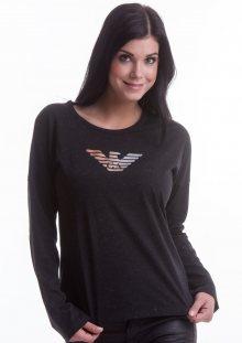 Dámské tričko Emporio Armani 163966 7A253 L Černá