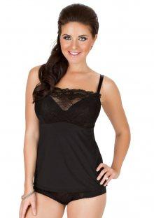 Dámská košilka Parfait 7406 Sophia černá 32 F Černá