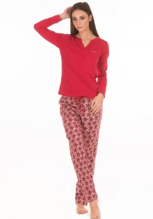 Dámské pyžamo Calvin Klein QS5978 L Červená