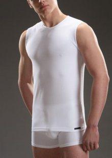 Pánské tričko Cornette 527 bílá XL Bílá