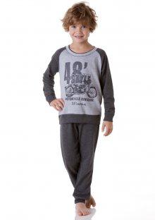Chlapecké pyžamo Cotonella DB252 7/8 Šedá