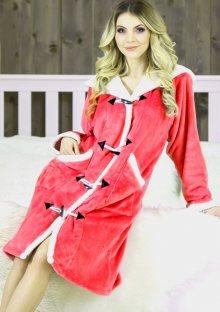 Dámský župan s kapucí Fantasy Claudia XL Dle obrázku