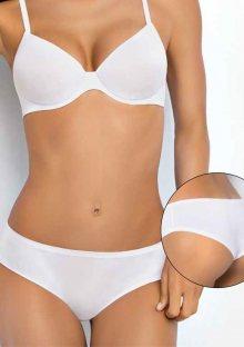 Dámské kalhotky Sielei 1559 NEW - bílá, černá S Bílá
