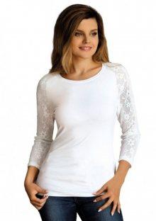 Dámské tričko Babell Freya - bílá XL Bílá