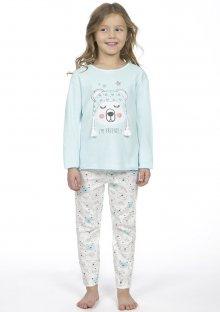 Dětské pyžamo CTM OURSON.PLK 3 Světle modrá