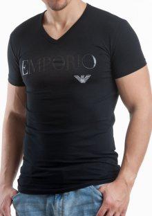 Pánské tričko Emporio Armani 110810 CC716 M Černá