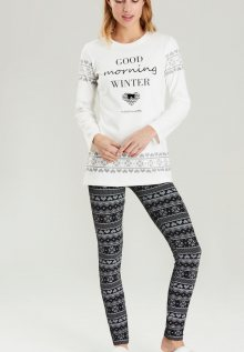 Dámské pyžamo Noidinotte FA6329 S Bílá