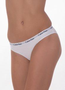 Dámské kalhotky Calvin Klein QD3589 3PACK vánoční L Mix