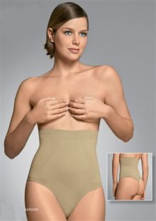 Stahovací kalhotky Plie 50075 L Tělová