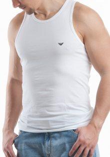 Pánský nátělník Emporio Armani 110828 CC729 bílá XL Bílá
