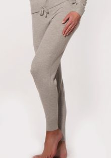 Kalhoty Calvin Klein QS5732 S Šedá