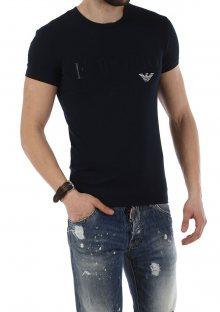 Pánské tričko Emporio Armani 111035 7P516 L Tm. modrá