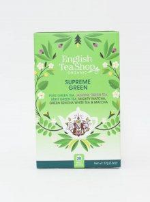 Organický zelený čaj English Tea Shop Supreme Green