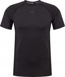 4F Funkční tričko černá