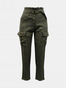 Khaki kalhoty s kapsami TALLY WEiJL