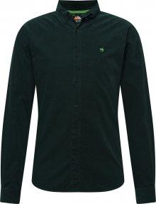 SCOTCH & SODA Košile tmavě zelená