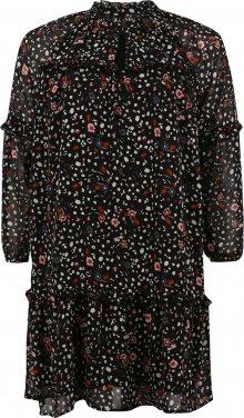 Vero Moda Curve Šaty černá / mix barev