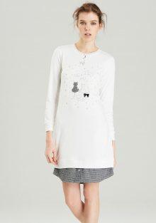 Dámská noční košile Noidinotte LA1674 M Bílá