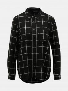 Černá kostkovaná košile TALLY WEiJL - XS