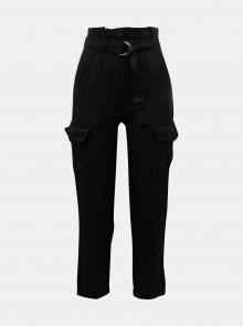 Černé kalhoty s kapsami TALLY WEiJL - XXS