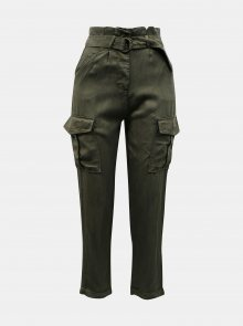 Khaki kalhoty s kapsami TALLY WEiJL - XXS