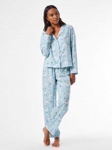 Modré vzorované pyžamo Dorothy Perkins - S