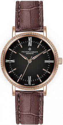 Frederic Graff Evans Croco Brown Leather FCK-B003R