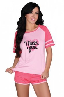 LivCo Corsetti Ejiroma dámské pyžamo L/XL růžová