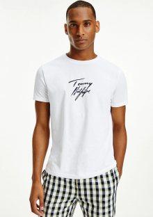 Pánské tričko Tommy Hilfiger UM0UM02245 L Bílá